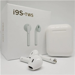 Earphones Bluetooth TWS-i9S Power Bank Branco - 5900217320951