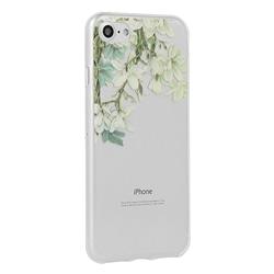 Tampa Traseira Flores Iphone Pro 5.8 Jasmim - 7289