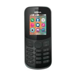 Nokia 130 Preto Dual Sim - Livre - 6438158702820