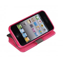 Flip Cover Alcatel OT Pop C7 Rosa Tek - 2678