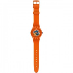 Relogio Swatch Orangish Lacquered - 7610522631885