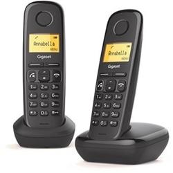 Telefone Sem Fios Gigaset A270 Duos Preto - 4250366850795