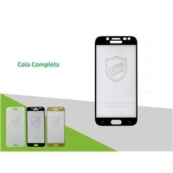 Pelicula Vidro 5D New Samsung A8S Preta