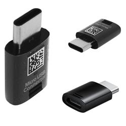 Adaptador Samsung GH98-40218A Micro USB e USB Type C Preto - 4016139185781