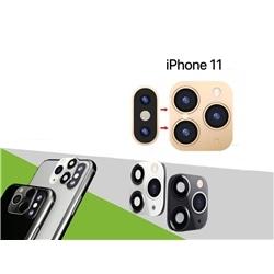 Lente Para Camera Traseira Iphone 11 Preta - 8416846611966
