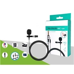 Microfone New We-Media Mic Lav - 8841577556324