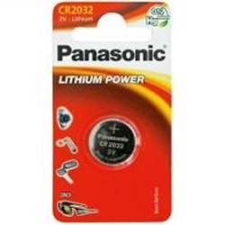 Panasonic Pilha Relogio 3V Lithium CR2032 Pack 1Un - 5019068085138