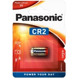 Panasonic Pilha Relogio 3V Lithium CR2 Pack 1Un - 5025232016082
