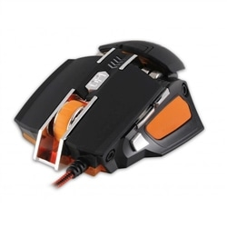 Rebeltec Rato Gaming Transformer Preto Usb