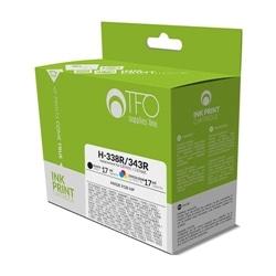 Pack Tinteiros TFO H-338R + H-343R Preto 17ml + Cor 17ml - 5900495462077