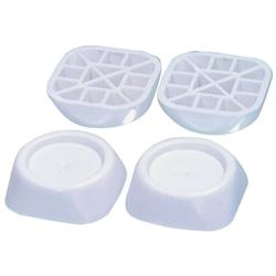 Pack 4 Estabilizadores Para Maquina de Lavar Branco - 5412810302918