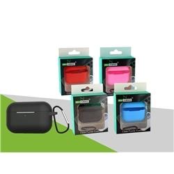 Capa Silicone Airpods Pro Azul Com Gancho - 8416846612413