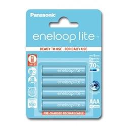 Panasonic Pilhas Eneloop LITE R03 AAA 550mAh Recarregável - 5410853052760