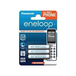 Pilhas Panasonic Eneloop R03 AAA 750mAh Recarregável - 5410853058779