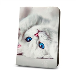 "Capa Universal P Tablet 9 a 10"" Gato Branco - 5900495788092"