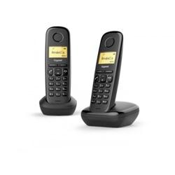 Telefone Sem Fios Gigaset A170 Duo Preto - 4250366850788