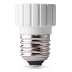 Adapatador de Lâmpadas E27 Para Lâmpadas Gu10 Branco - 5900495107886