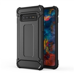 Tampa Armor Carbon Samsung A41 A415 Preta - 5900217351153