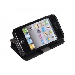 Estojo Flip Cover Huawei Ascend G620s Preta - 3341
