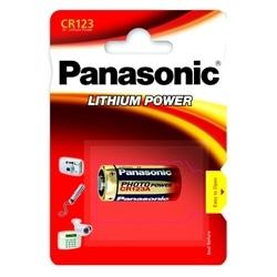 Panasonic Pilhas Alcalina CR123A Pack 1Un
