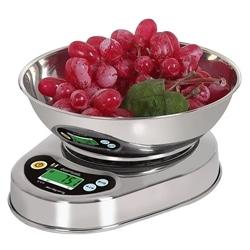 Balança de Cozinha Eletrônica Com Tigela LCD de 3 kg - 5902734877918