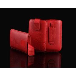 Estojo Telone Up Premium Htc One Vermelha