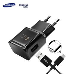 Nucleo 220V Samsung EP-TA20EBE 2Amp + Cabo Type C Bulk