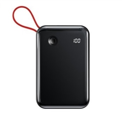 Power Bank 10000 mAh Mini 15W 1 Porta USB + USB Type C Pret - 6953156214729