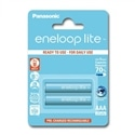 Panasonic Pilhas Eneloop Lite R03 AAA 550mAh Recarregável 2