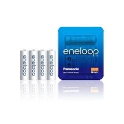 Panasonic Pilhas Eneloop R6 AA 1900mAh Recarregável Pack 4Un - 5410853060574