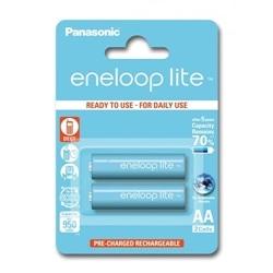 Panasonic Pilhas Eneloop Lite R6 AA 950mAh Recarregável - 5410853052739