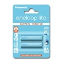Panasonic Pilhas Eneloop Lite R6 AA 950mAh Recarregável