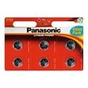 Panasonic Pilha 3V Lithium CR2025 Pack 6 Unidade