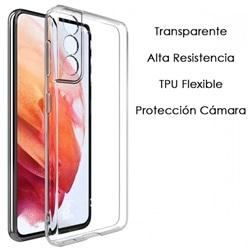 Capa Gel Traseira Samsung A12 5G M12 C Proteção da Cãmera