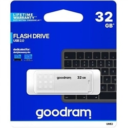 Pen Drive Usb GOODRAM 32GB 2.0 Branca - 5908267935675