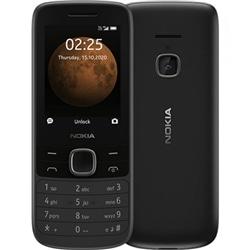 Nokia 225 Preto Dual Sim - Livre - 6438409050465