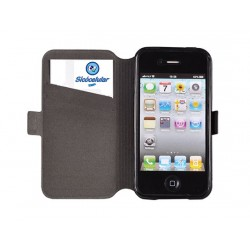 Flip Cover Alcatel OT Pop C7 Preta - 2798