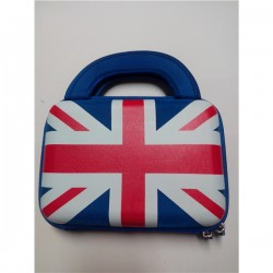 "Malinha Universal P Tablet 7"" Azul C Bandeira Inglesa - 3837"