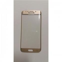 Pelicula Vidro Temp Sam. Galaxy S6 Edge G925 Curva Dourada - 3611