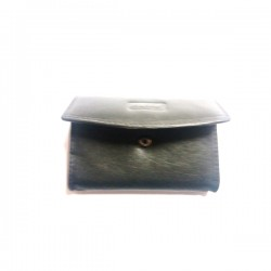 Porta Moedas + Porta Chaves Pele Amborg Preta Ref 016029 - 2200000160294