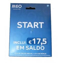 Cartao Meo 2.5 Euros Saldo Inicial - 2642