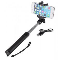 Suporte Selfie Stick Monopod C/Bluetooth 80Cm - 5900217174912