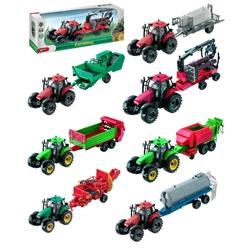 Tractor Com Atrelado 1:27 - 61002 Colecção - 8001011610020
