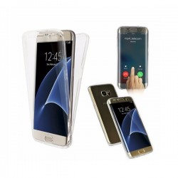 Bolsa Gel Dupla Samsung Galaxy S8 Plus Transparente