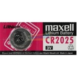 Pilha Relogio Maxell 3V Lithium CR2025