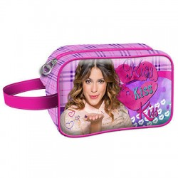 Estojo Violetta Cosmetic Kiss Karactermania - 8435376330284