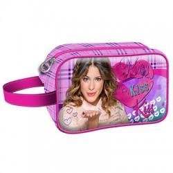 Estojo Violetta Cosmetic Kiss Karactermania - 8435376330284