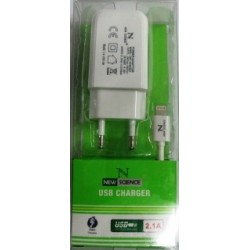 Carreg 220V New Iphone 5 2.1 Amp Branco