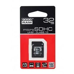 Cartao Memoria GOODRAM MicroSd 32GB Classe 10 C Adaptador - 5908267913239
