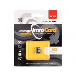 Cartao Memoria IMRO MicroSD 8GB Classe 10 S Adaptador - 5902768015386